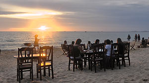 Phu Quoc beach sundown